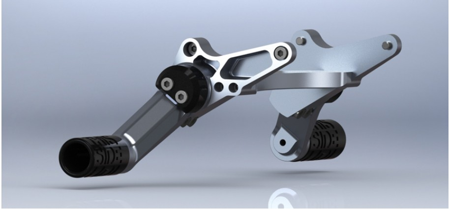 New cnc-machined adjustable subcages are in stock for kawasaki