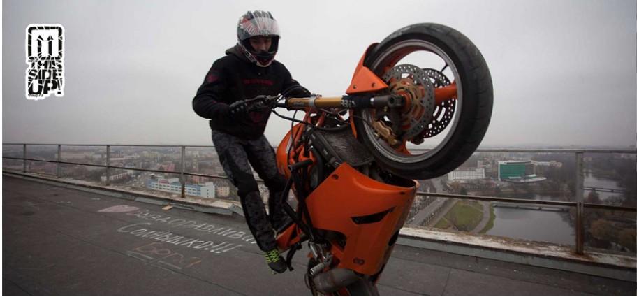Rider Denis Grachev