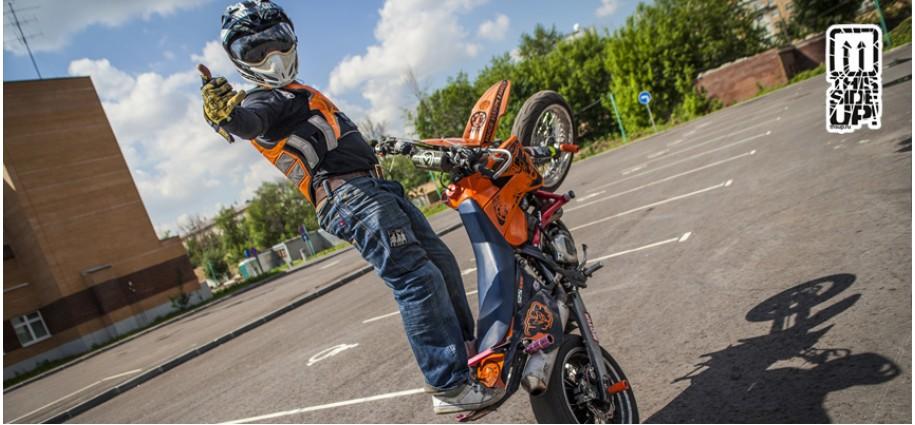 Rider Gregory Taldykin