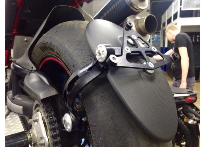 Рамка крепления номера на маятник Ducati Monster