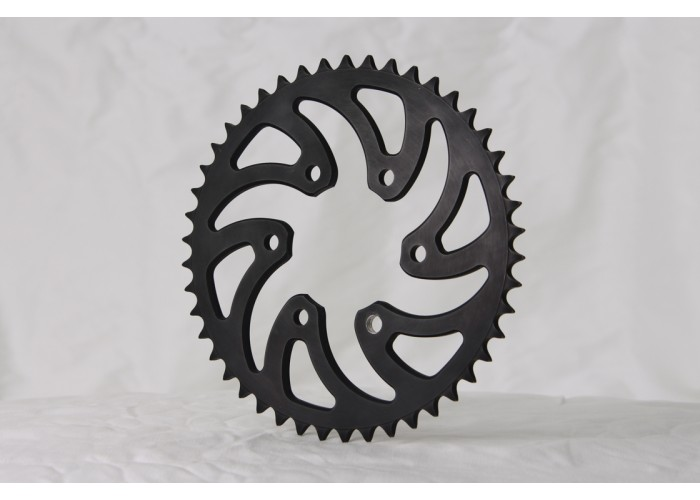 Rear sprocket stock sizes (40-48) for 520/525 chains